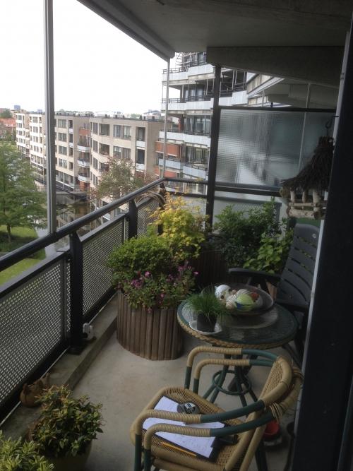 balkon oude situatie