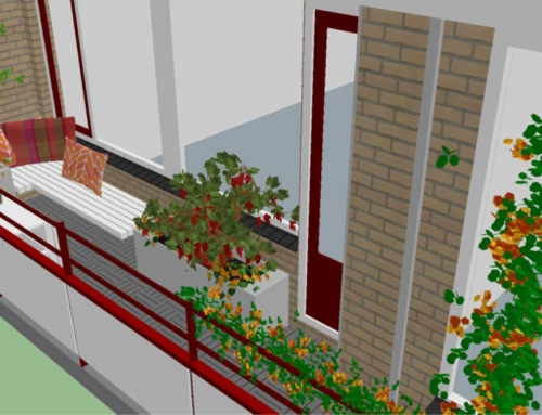 Genieten van een groen balkon op 9 hoog?